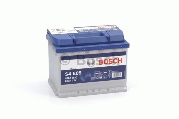 BOSCH Start Stop  (EFB) 12V  60 Ah jobb + normál Start & Stop rendszerű akkumulátor