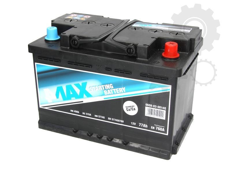 4MAX--12V--77-Ah-jobb--normal-auto-akkumulator-