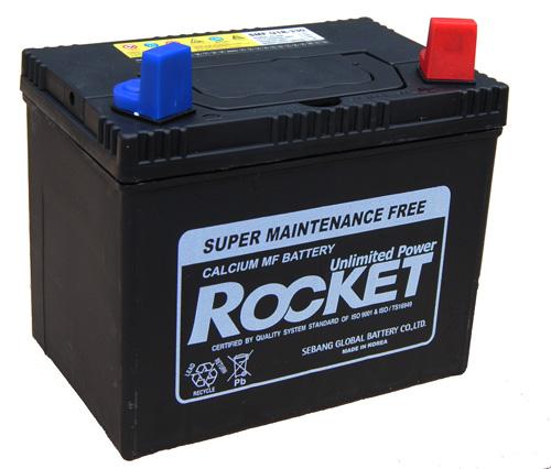 ROcket fűnyíró akkumulátor 12V  30 Ah JOBB +  fűnyíró akkumulátor