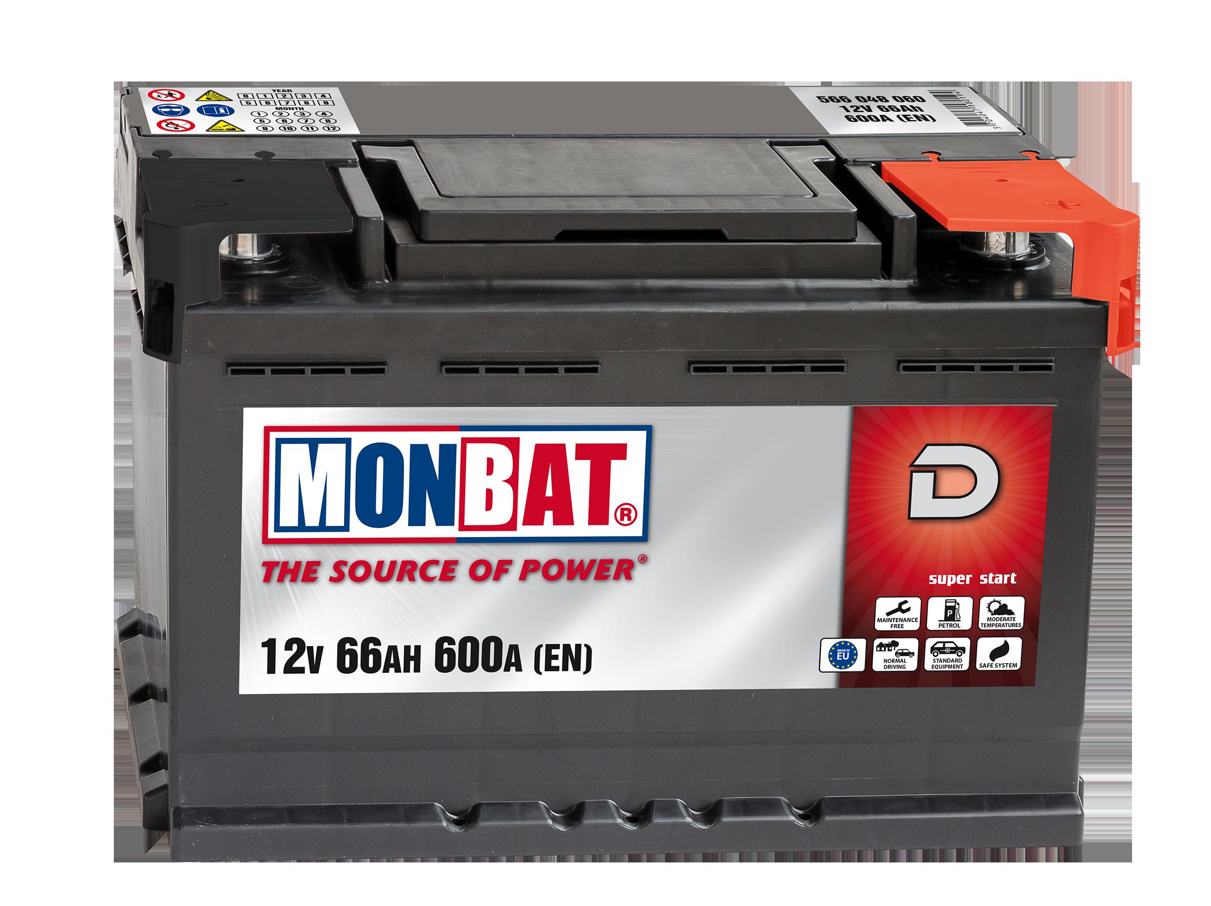 MONBAT--12V--45-Ah-jobb--normal-auto-akkumulator--FIAT-PUNTO