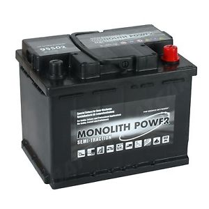 Monolith Power  12V 80 Ah jobb +  munka akkumulátor