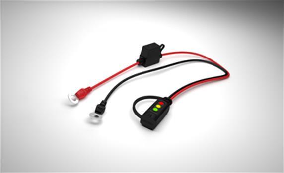 CTEK  -  szemes töltő csatlakozó LED kijelzővel M8 b