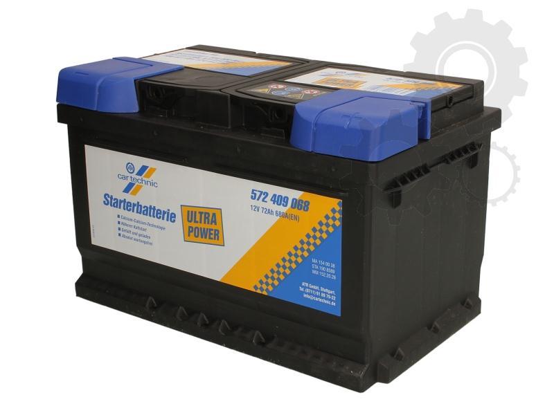 CARTECHNIC--12V--72-Ah-jobb--normal-auto-akkumulator-