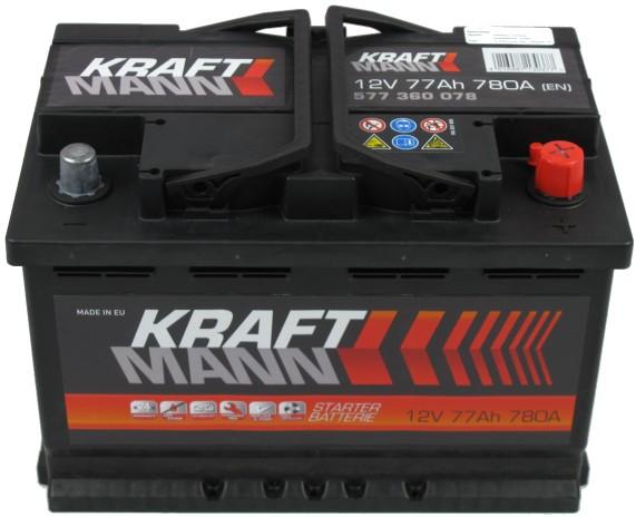 Kraftmann---12V--77-Ah-jobb--normal--auto-akkumulator--