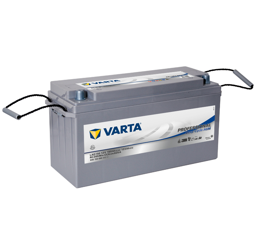 Varta Professional Deep Cycle AGM 12V  150 Ah  jobb+  Munka akkumulátor