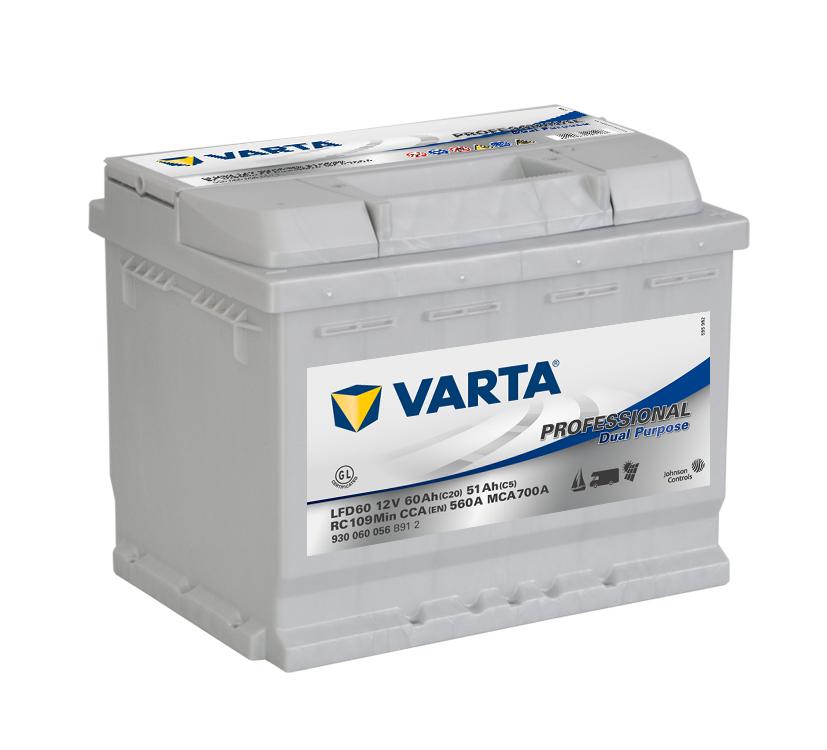 Varta-Professional-Dual-Purpose-12V--60-Ah--jobb--Munka-akkumulator-