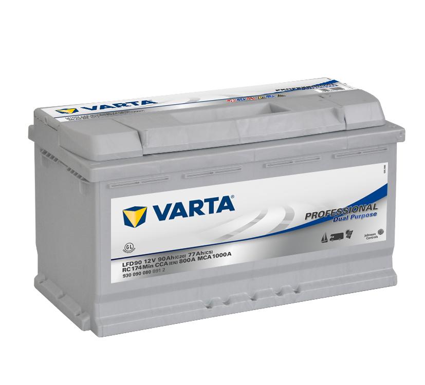 Varta-Professional-Dual-Purpose-12V--90-Ah--jobb--Munka-akkumulator-