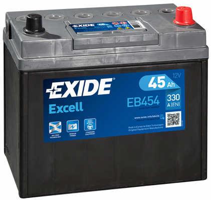 EXIDE--EXCELL---Japan-12V--45-Ah-jobb---auto-akkumulator--983