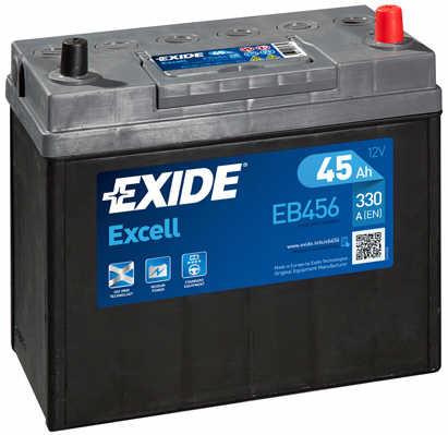 EXIDE--EXCELL---Japan-12V--45-Ah-jobb---auto-akkumulator--982
