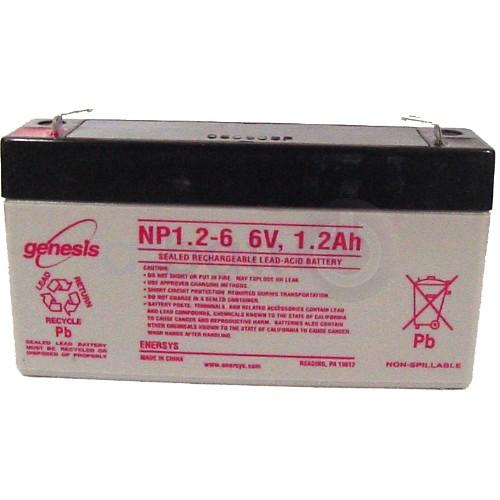 Genesis   6V  1,2 Ah   Kerékpár és UPS akkumulátor