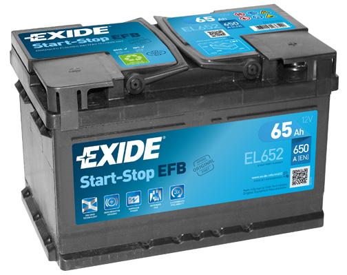 EXIDE--12V--65-Ah-jobb--normal-Start--Stop-rendszeru-akkumulator-
