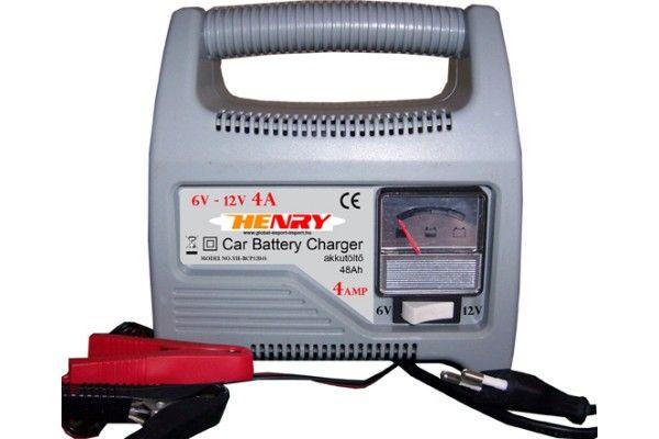 Henry 12V 4A akkumulátortöltő