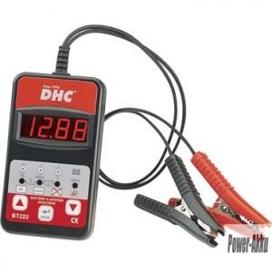 Akkumulátor teszter digitális DHC-BT222