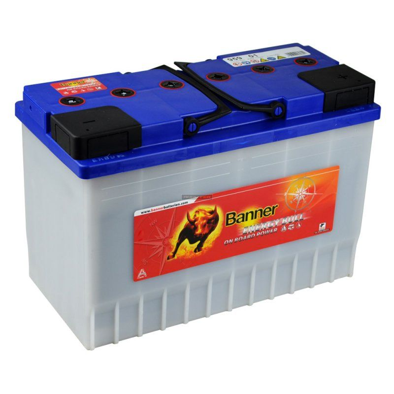 Banner Energy Bull 12V  60 Ah jobb + normál munka akkumulátor