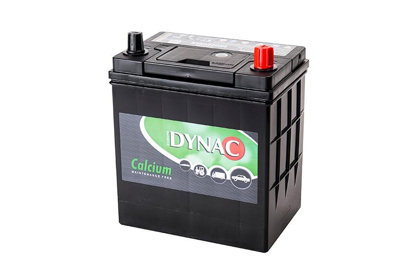 dynac ASIA 12V  35 Ah jobb + vékonysarus  autó akkumulátor