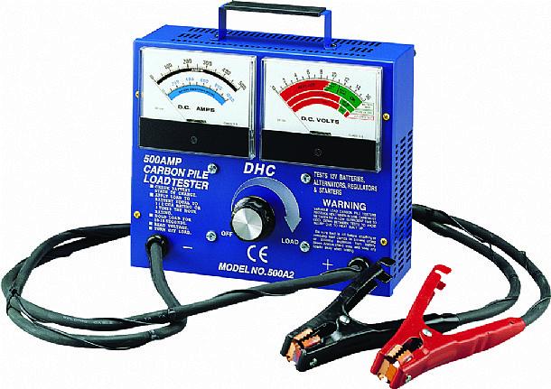 Akkumulátor teszter  DHC-500A2