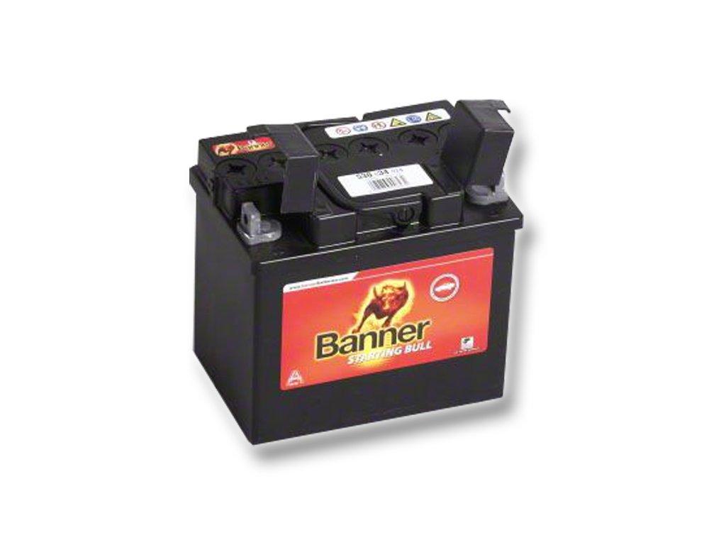 baNNeR fűnyíró akkumulátor 12V  30 Ah bal +  fűnyíró akkumulátor