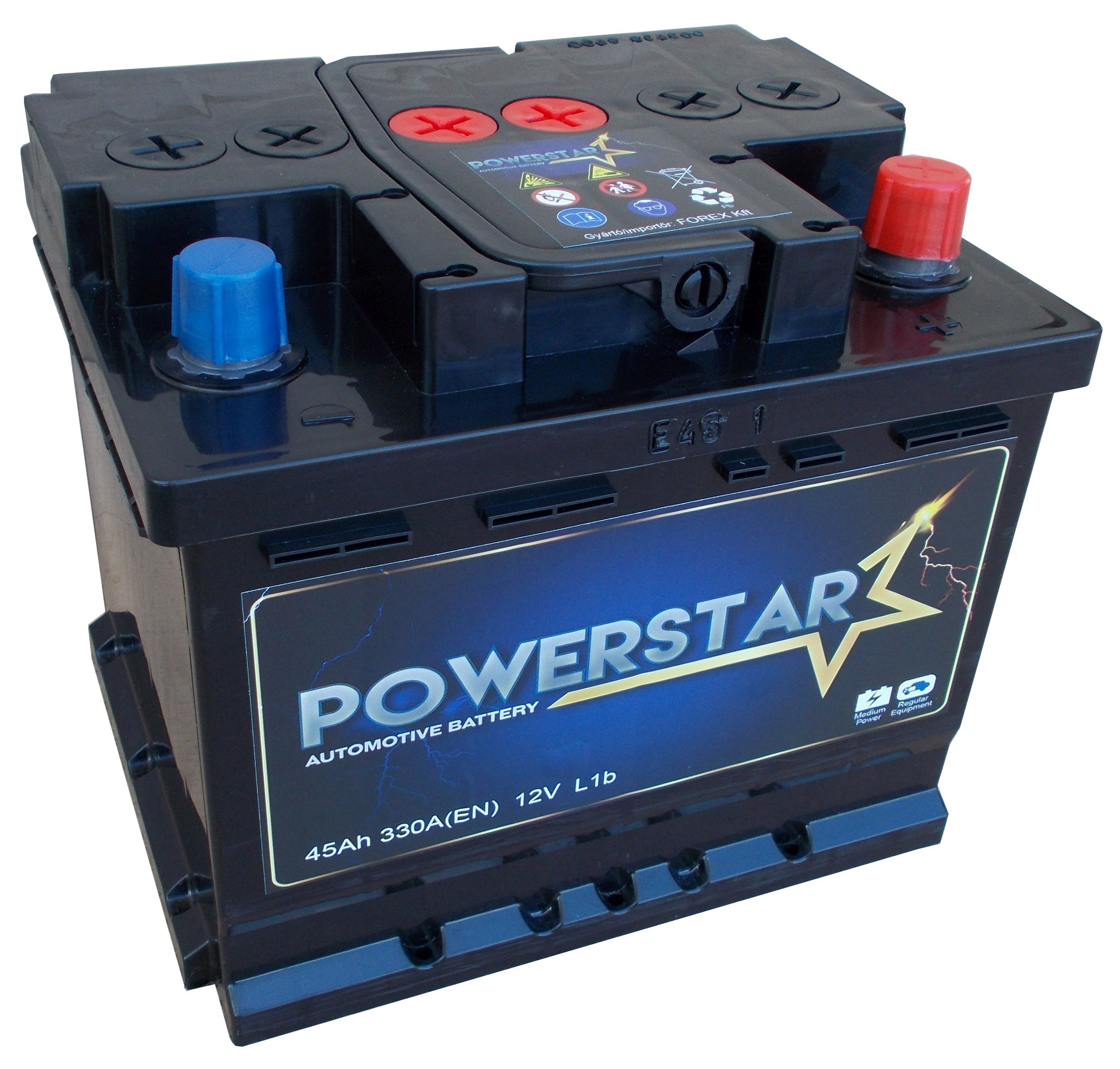 POWERSTAR--12V--45-Ah-jobb--normal-auto-akkumulator---