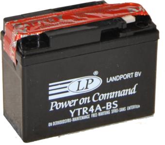 LANDPORT  12V  2,3 Ah bal +  motor akkumulátor