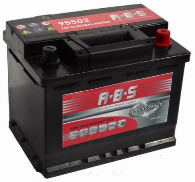 ABS Working Power 12V  60 Ah  jobb+  Munka akkumulátor