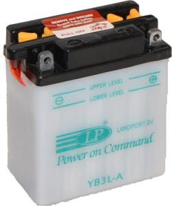 LANDPORT 12V  3 Ah jobb +  motor akkumulátor
