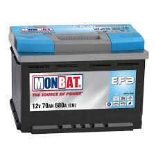 Monbat--EFB-12V-70-Ah-jobb--start--stop-rendszeru-auto-akkumulatoR