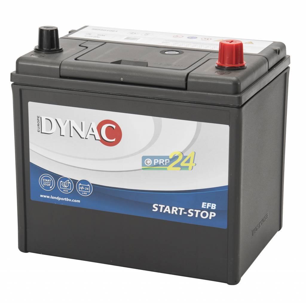 DYNAC Start-Stop EFB - 12v 40ah - autó akkumulátor
