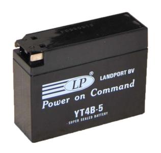 LANDPORT 12 V 2,5Ah jobb + (AGM) Gyárilag zárt akkumulátor