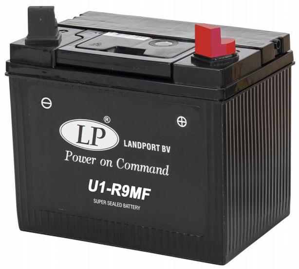 Landport 12 v 24Ah jobb + fűnyiró akkumulátor