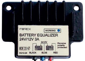 Akkumulátor szimmetrizáló 24V/3A, (aluminium bordában)