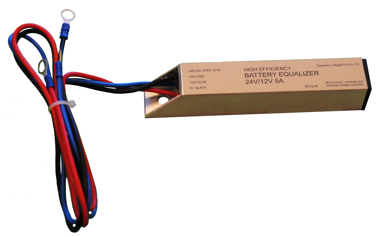 Forex Akkumulátor szimmetrizáló 24V/5A