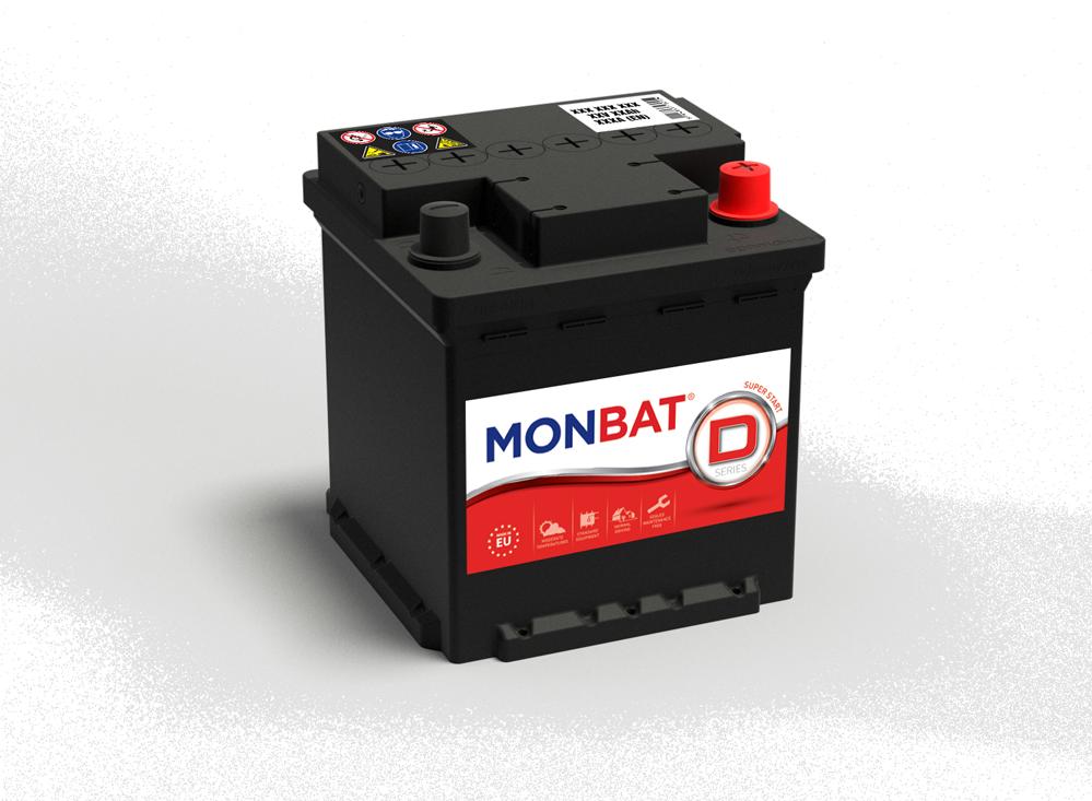 MONBAT--12V--45-Ah-dynamic-jobb--normal-auto-akkumulator--FIAT-PUNTO