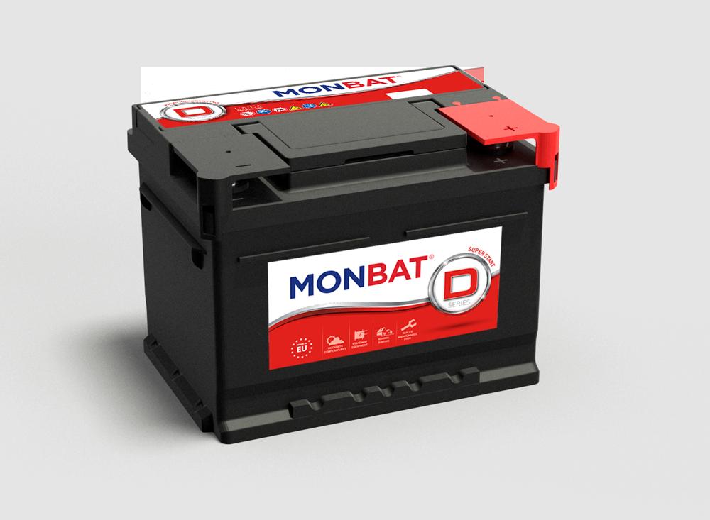 MONBAT  12V  45 Ah dynamic jobb + normál autó akkumulátor