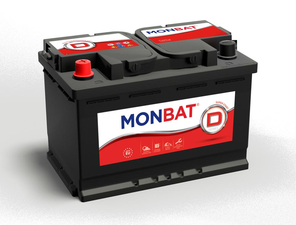 MONBAT  12V  48 Ah dynamic  bal + normál autó akkumulátor