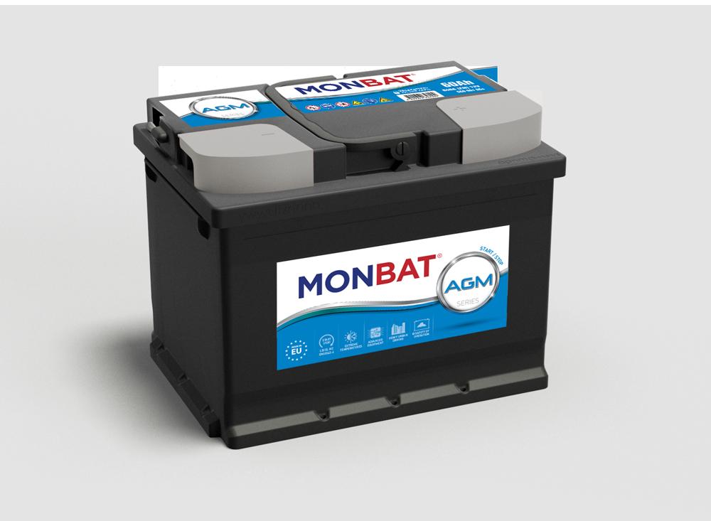 Monbat--AGM-12V--60-Ah-jobb--start--stop-rendszeru-auto-akkumulator----