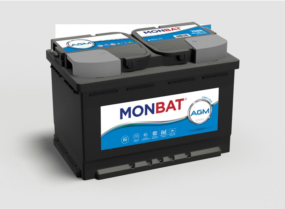 Monbat--AGM-12V-70-Ah-jobb--start--stop-rendszeru-auto-akkumulator