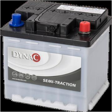 DYNAC - 12v 50ah -  meghajtó akkumulátor - jobb+