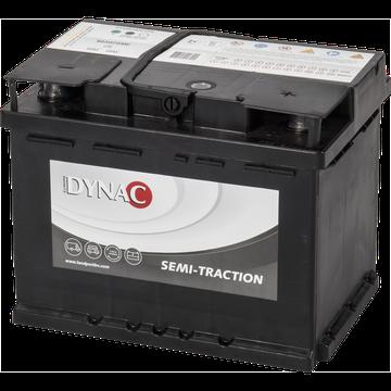 DYNAC - 12v 60ah -  meghajtó akkumulátor - jobb+