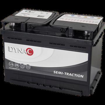 DYNAC - 12v 75ah -  meghajtó akkumulátor - jobb+