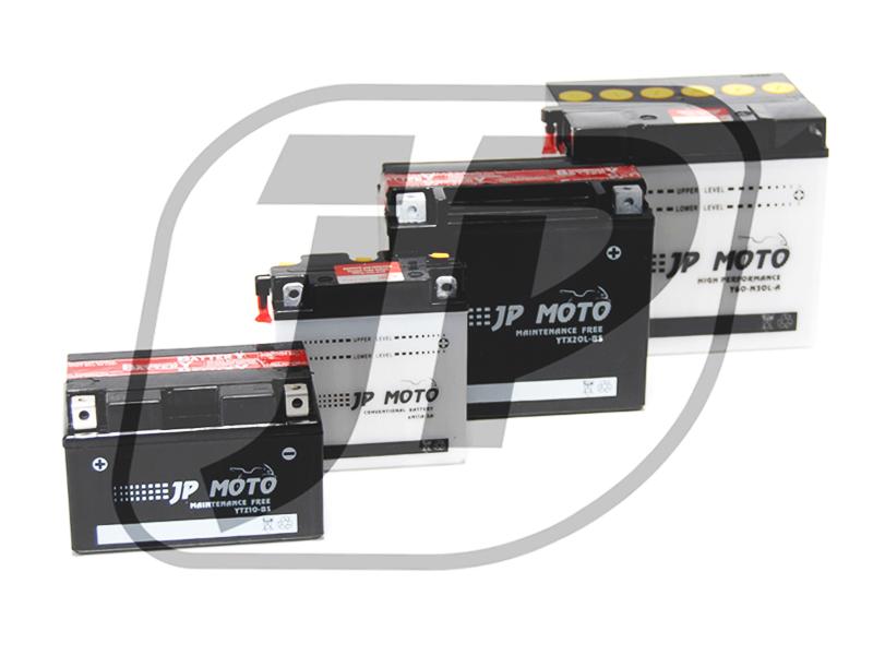 JP Moto  12V  10 Ah bal +  motor akkumulátor