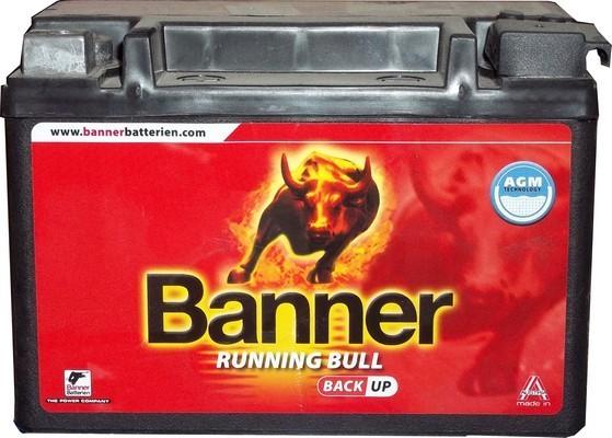 Banner Running Bull Back Up 12V  9 Ah bal +  Start & Stop rendszerű akkumulátor